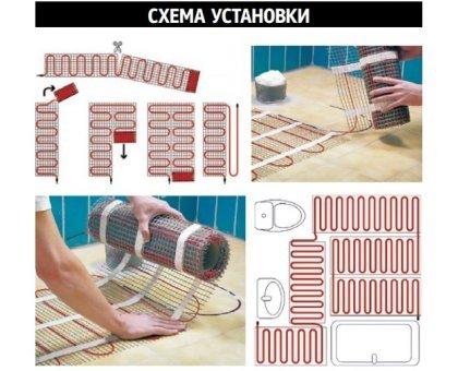 Купить Электрический теплый пол под плитку 0,5кв / 75 Вт в Ростове-на-Дону
