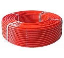 Труба из сшитого полиэтилена Stout PE-Xa EVOH 16*2.0 из полиэтилена с антидиффузионным слоем, для напольного отопления, красная